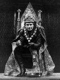 "Ian Holm as Richard III in Royal Shakespeare Company's Production of ""The Same Name"" Photographie"