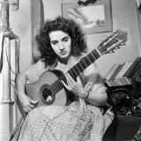 Madam Ida Presti, the Greatest Classic Guitarist of the 20th Century Photographic Print