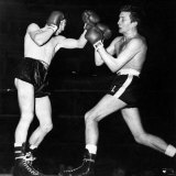 Boxing at Albert Hall, Frankie Tailor vs. Phil Lundgren, March 1964 Photographic Print
