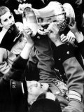 Chelsea Pensioners Get Hand on the FA Cup as Dave Webb Hands It to Them During Parade Photographic Print