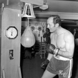 "BBC Early Morning Program ""Morning Show"" Explain to Listeners about Henry Cooper Photographic Print"