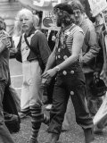 1977 Gay Pride March Through London to Hyde Park Reproduction photographique