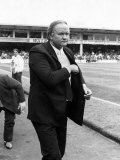 Manchester United Manager Ron Atkinson. September 1986 Photographie