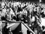 Chelsea Captain Ron Harris Lifts the FA Cup After They Had Beaten Leeds at Old Trafford Photographic Print