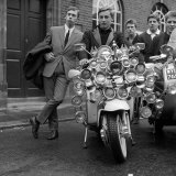 Youth Culture Mod Mods Swinging Sixties Collection Photographie