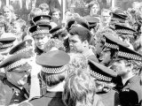 Muhammad Ali During His Visit to Newcastle During July 1977 Lámina fotográfica