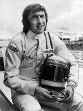 Racing Driver Jackie Stewart Fotografisk tryk