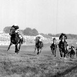 Sir Ivor with Lester Piggott Wins the Derby at Epsom Lmina fotogrfica