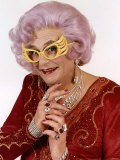 Barry Humphries Comedian as Dame Edna Everage Lmina fotogrfica