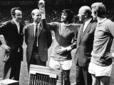 George Best Receives the European Footballer of the Year 1969 Award from Max Urbini Photographic Print