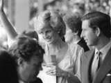 Princess Diana and Prince Charles July 1985 Are Pictured at the Live Aid Concert in Wembley Photographic Print