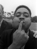 Dizzy Gillespie Jazz Musician July 1963 at Fort Belvedere Near Ascot Reproduction photographique