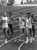 Olympic Games 1976: the First Semi Final of the 800M Photographic Print