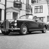 "Tony Curtis Sitting in 1938 Green Bentley in the James Bond Film "" from Russia with Love"" Photographic Print"