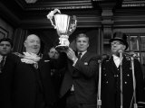West Ham Captian Bobby Moore Shows the European Cup Winners Cup Trophy to the Crowd Photographic Print