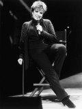 Liza Minnelli Singer Actress on Stage at the London Palladium 1986 Photographic Print