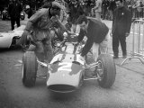 British Grand Prix 1965 Silverstone July 1965 Lorenzo Bandini and His Ferrari Number 2 Car Photographie
