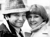 Judi Dench Actress and Husband Michael Williams Photographic Print