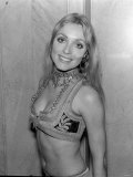 Actress Sharon Tate Photographed After the Premier of the Film Rosemarey's Baby, 1969 Photographic Print