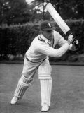 Lancashire County Cricket Player Cyril Washbrook. April 1958 Photographic Print