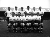 England Football Team - 1959 Which Include - Brian Clough and Bobby Charlton Lámina fotográfica