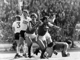Tony Adams of the Arsenal Team Photographic Print