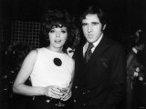 Joan Collins Actress and Her New Husband Anthony Newley Photographic Print