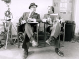 George Cole as Arthur Daley and Dennis Waterman as Terry Mccann from the Television Series Minde Photographic Print