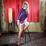 Actress Wendy Richard in 1967 Photographic Print