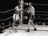 Cassius Clay May 1966 Fight with Henry Cooper Boxing 1960S Cassius Clay V Henry Cooper Lámina fotográfica
