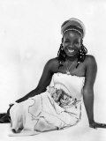 Rita Marley, Reggae Singer and Wife of Bob Marley Lmina fotogrfica