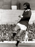 George Best Football Player Warming Up Before the Game Against Huddersfield Photographic Print