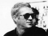 Steve McQueen American Actor Fotografisk tryk