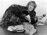 Rod Hull and Emu Comedian Papier Photo