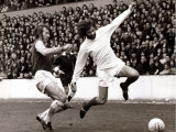 George Best Football Player - is Tackled by Billy Bond of West Ham West Ham V Manchester United Photographic Print