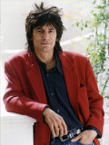 Ronnie Wood Guitarist of the Pop Group the Rolling Stones Fotografie-Druck