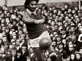 George Best Football Player - in Action For Manchester United Against Wolverhampton Wanderers Photographic Print