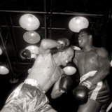 Cassius Clay vs Henry Cooper, June 1963 Photographie
