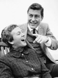 Dick Van Dyke American Comedian Arrived on Liner 'Bremen' at Southampton with Wife Marjorie Photographic Print