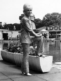 Dusty Springfield the Pop Singer in Her Natty Trouser Suit Photographie
