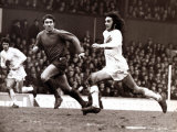 Manchester Uniteds George Best Football Player - February 1970In Action Against Middlesbrough Photographic Print