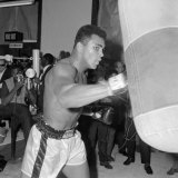 Muhammad Ali Training at BBC Gym in Preparation For His Fight Against Brian London Photographie