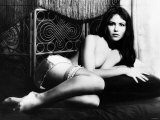 Actress Koo Stark in a Topless Scene from the 1977 Film