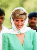 Princess of Wales on Her Tour of Pakistan September 1991 Photographic Print