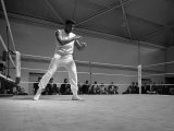 Cassius Clay Later to Become Muhammad Ali May 1966 Papier Photo