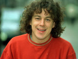 Actor Alan Davies at Photocall in London Announce Second Series of BBC TV Program Jonathan Creek Lmina fotogrfica