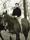Audrey Hepburn Riding at Hyde Park, January 1959 Photographie