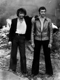 Tv Program 'The Professionals' on Set For the Making of the New Series Photographic Print