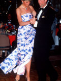 Prince Charles and Princess Diana Dancing in Melbourne on Their Visit to Australia Photographic Print