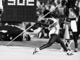 Olympic Games 1984 Tessa Sanderson Win the Gold Medal Photographic Print